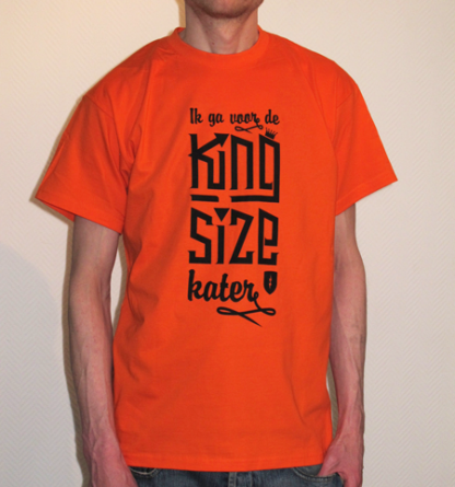 Koningsdag shirt heren