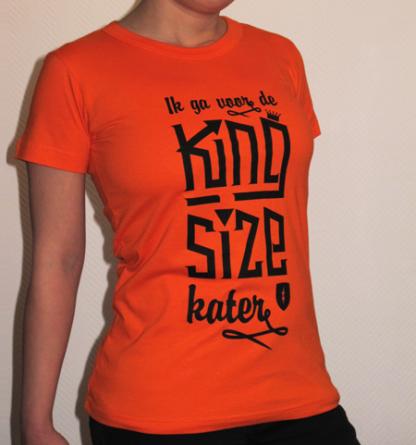 Koningsdag shirt dames